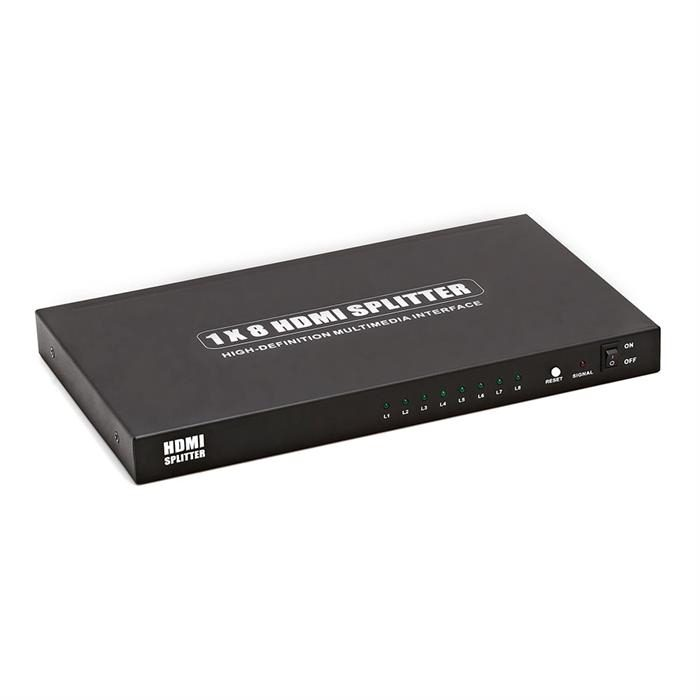 HDMI Splitter Powered 1x8
