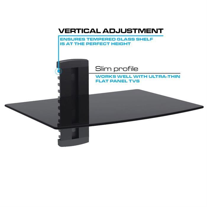 Ultra Slim Design - Adjustable height