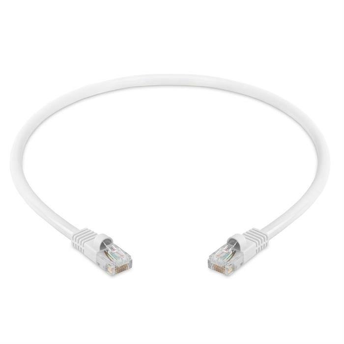 High Speed Lan Cat5e Patch Cable 1.5FT, White