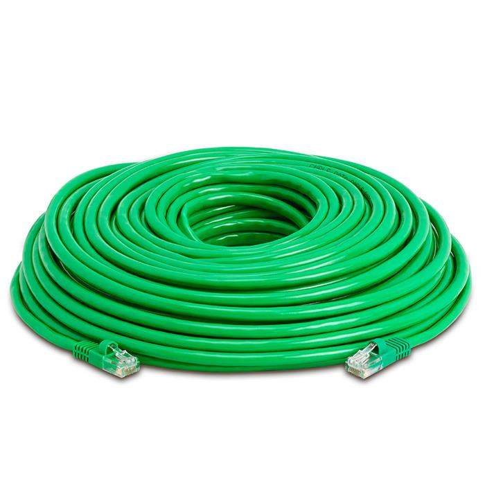 High Speed Lan Cat5e Patch Cable 100FT Green