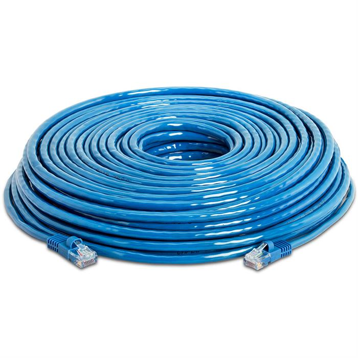 High Speed Lan Cat5e Patch Cable 150FT Blue