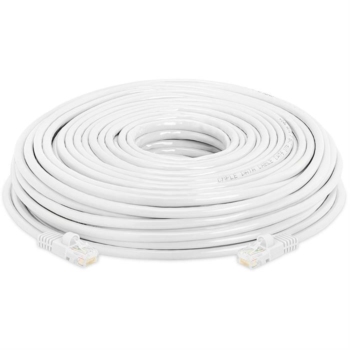 High Speed Lan Cat5e Patch Cable 150FT, White