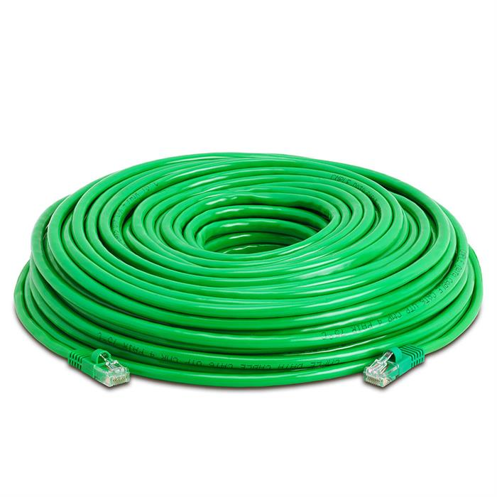 High Speed Lan Cat5e Patch Cable 150FT Green