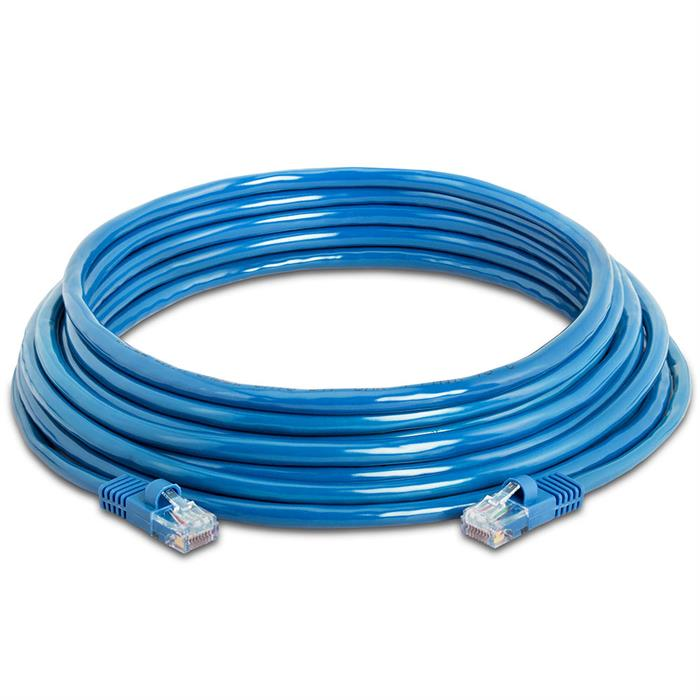 High Speed Lan Cat5e Patch Cable 25FT Blue