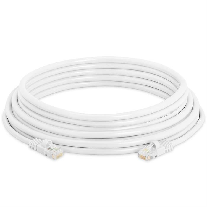 High Speed Lan Cat5e Patch Cable 25FT, White