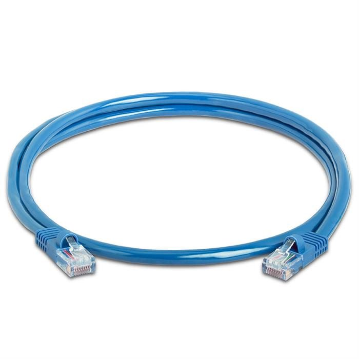 High Speed Lan Cat5e Patch Cable 3FT Blue
