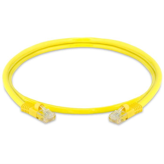 High Speed Lan Cat5e Patch Cable 3FT Yellow