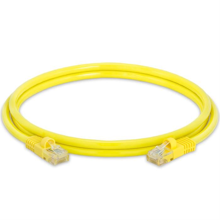 High Speed Lan Cat5e Patch Cable 5FT Yellow
