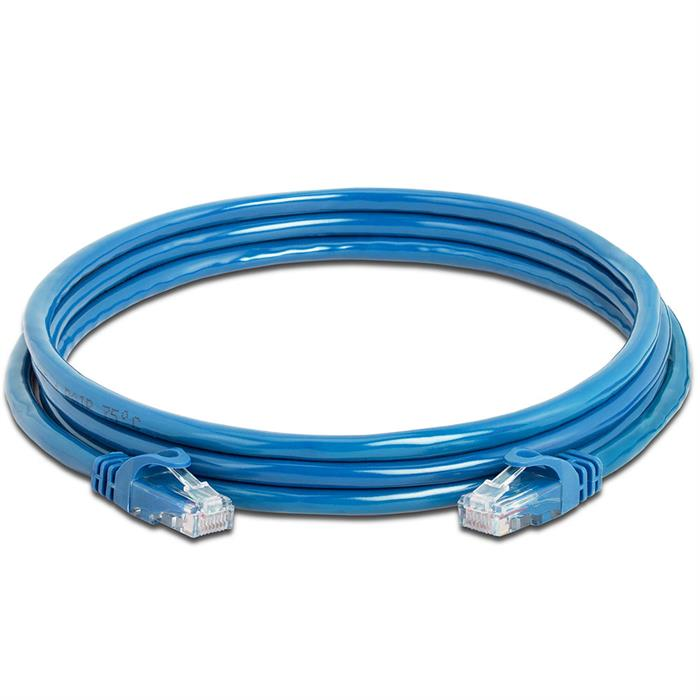 High Speed Lan Cat6 Patch Cable 7FT Blue