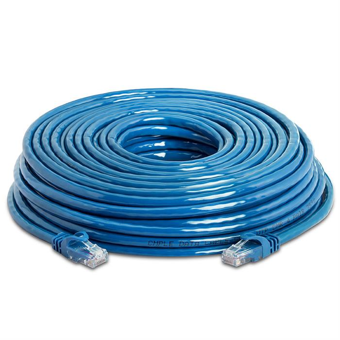 High Speed Lan Cat6 Patch Cable 75FT Blue
