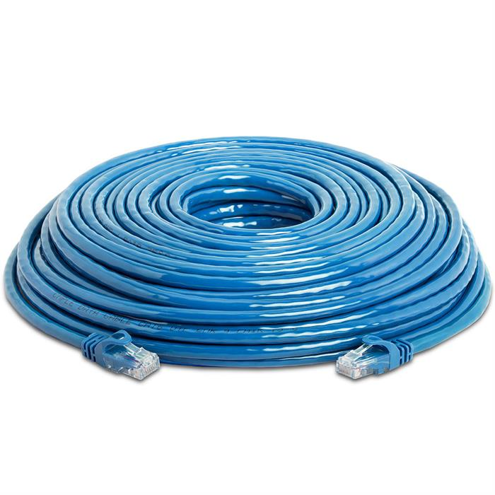 High Speed Lan Cat6 Patch Cable 100FT Blue