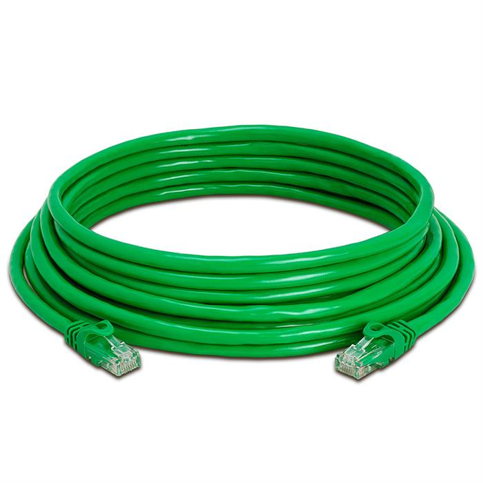 High Speed Lan Cat6 Patch Cable 25FT Green