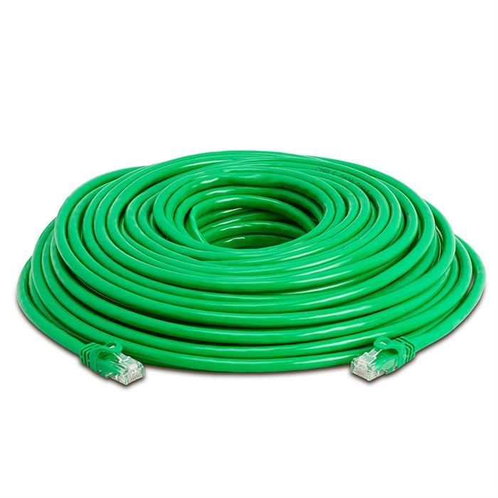 High Speed Lan Cat6 Patch Cable 100FT Green