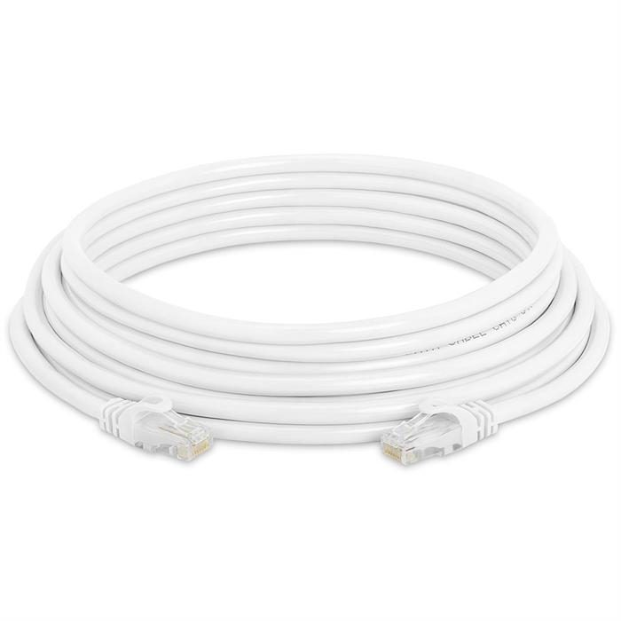 High Speed Lan Cat6 Patch Cable 25FT White