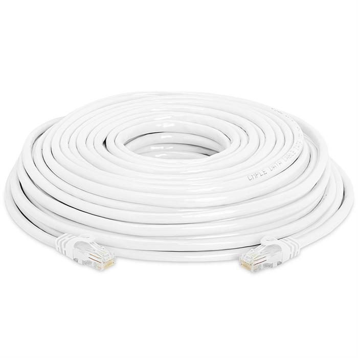 High Speed Lan Cat6 Patch Cable 75FT White