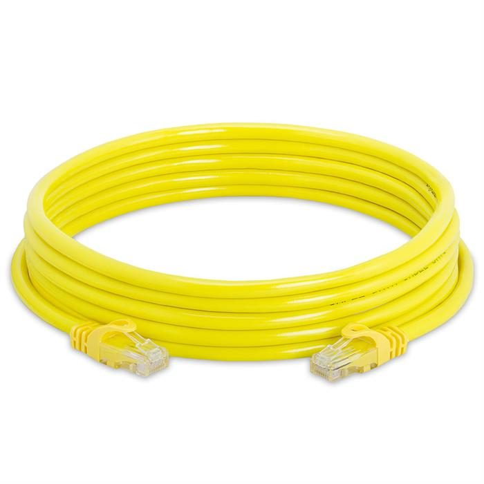 High Speed Lan Cat6 Patch Cable 10FT Yellow