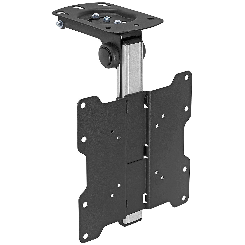 "Lcd Ceiling Mount: Folding LCD Ceiling/Cabinet Mount For 17""- 37"" TV/Monitor"