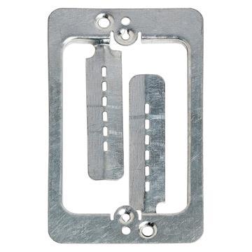 Cmple - Drywall Bracket Single-Gang Standard Wall Plate - Includes Drywall Screws – Metal