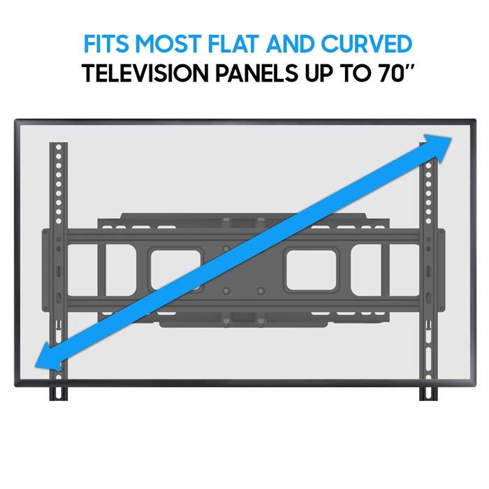 """TV Wall Mount up to 70"""""""