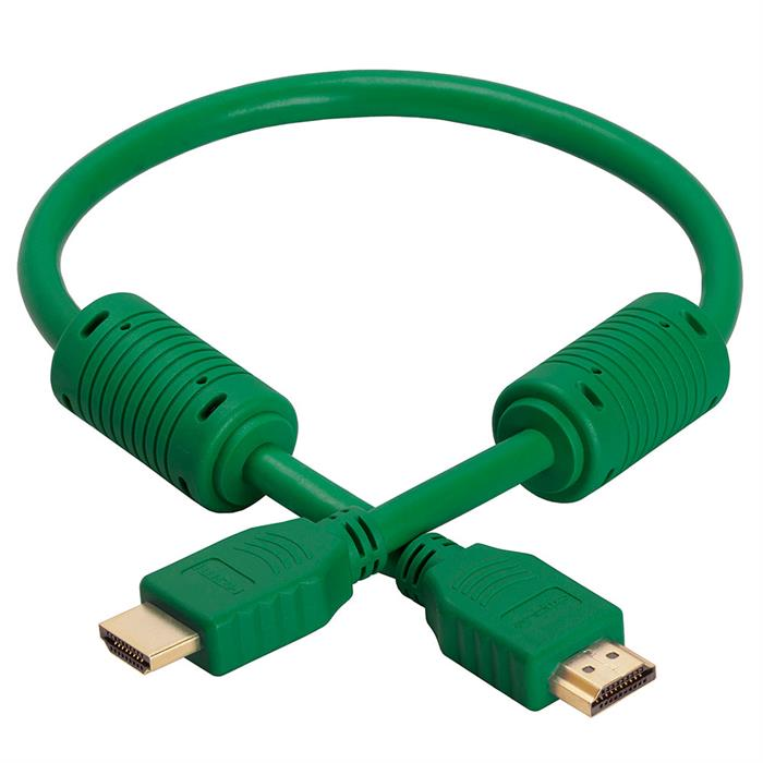 HDMI Cable 1.5 FT Green