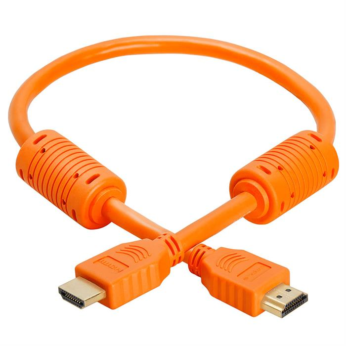 HDMI Cable 1.5 FT Orange