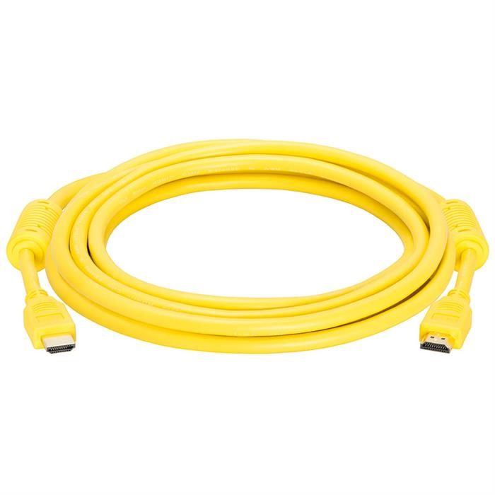 HDMI Cable 10 FT Yellow