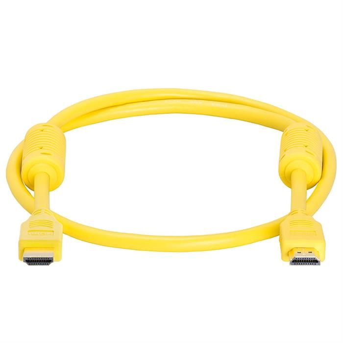 HDMI Cable 3 FT Yellow
