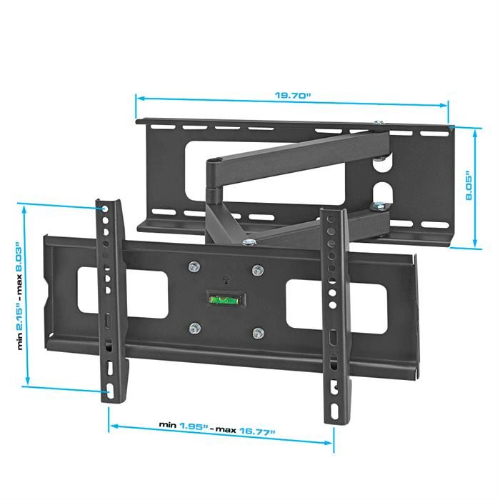 "TV Wall Mount For 32""-55"" Dimensions"