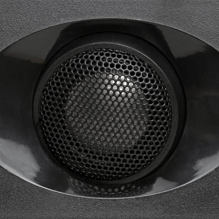 "5.25"" Ceiling Wall Mount Speakers: Titanium Dome Tweeter - provides a very natural sound"