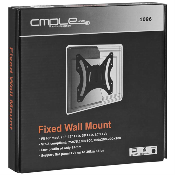 "Package - TV Wall Mount For 23""-42"" TV's"