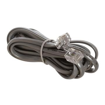 Phone Cable, RJ11 (6P4C), Reverse - 7 Feet (Voice)