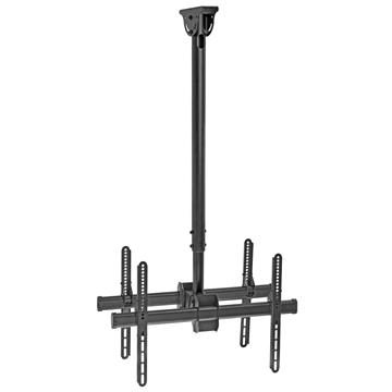 "Heavy-Duty Ceiling Mount For Double 37""-70"" LED/LCD/Plasma TV's"