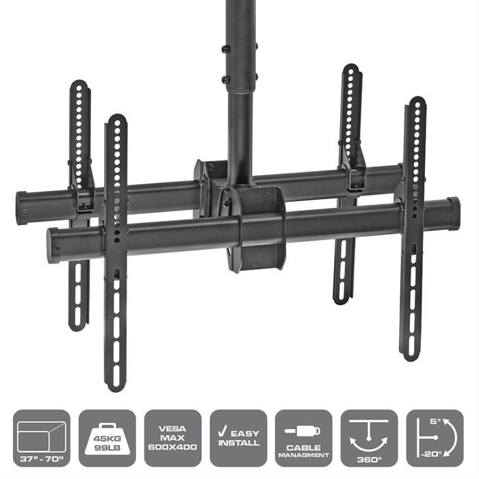 "Package - Ceiling TV Mount For Double 37""-70"" TVs"