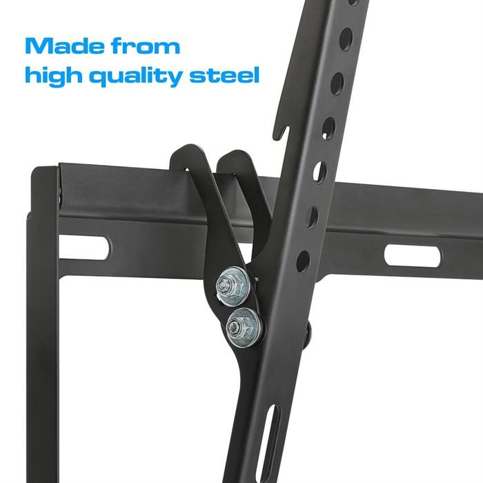 Made from High Quality Steel - Tilting TV Wall Mount