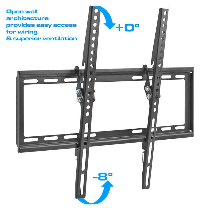 Easy access for wiring - Tilting TV Wall Mount