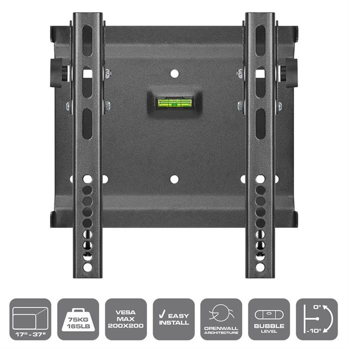 "Features - Tilt TV Wall Mount for 17""-37"""