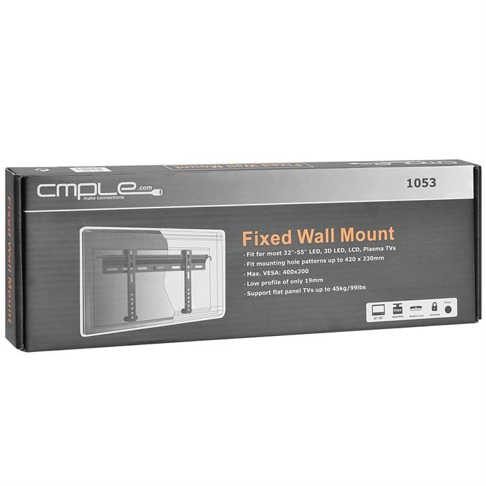 "Package - Ultra Slim Fixed TV Wall Mount For 32""-55"" TVs"