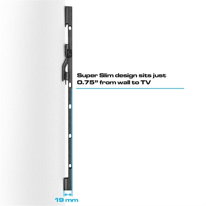 "Super slim design - Ultra Slim Fixed TV Wall Mount For 37""-70"" TV"