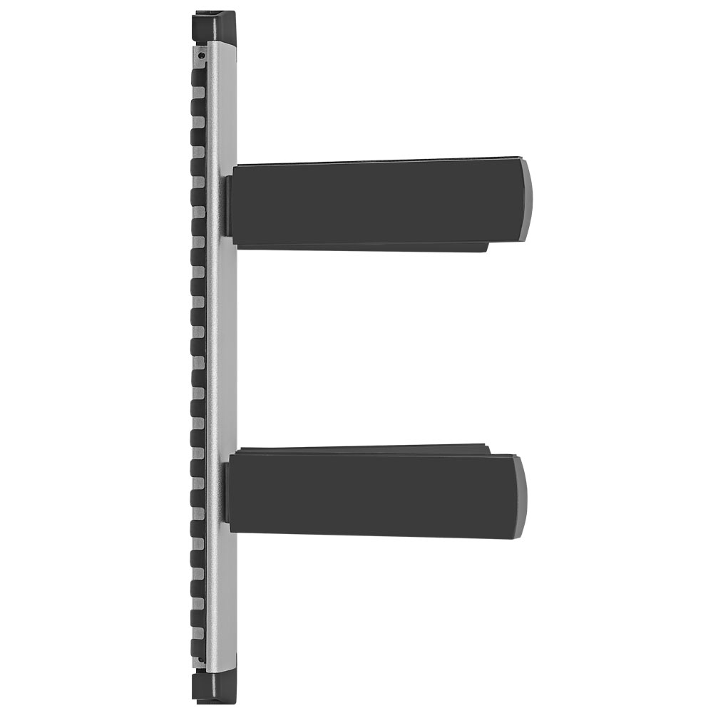universal adjustable two shelf dvd set top box wall mount. Black Bedroom Furniture Sets. Home Design Ideas