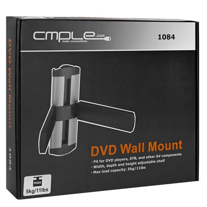 Package - Universal Adjustable DVD/STB Wall Mount