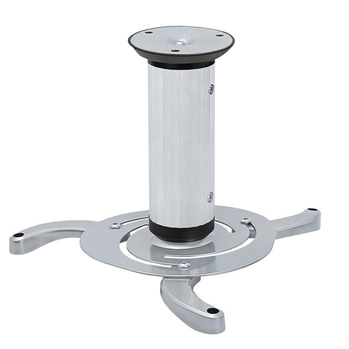 Projector Ceiling Mount Max 22Lbs - Silver