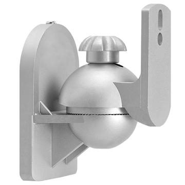 Speaker Wall Mount For Satellite Speakers - Silver Pair