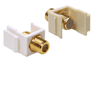 Picture for category Coax Keystone Jacks