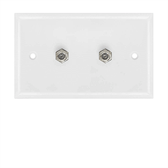 Picture for category Coax Wall Plates
