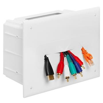 DataComm 45-0010-WH  Recessed Media Box - White