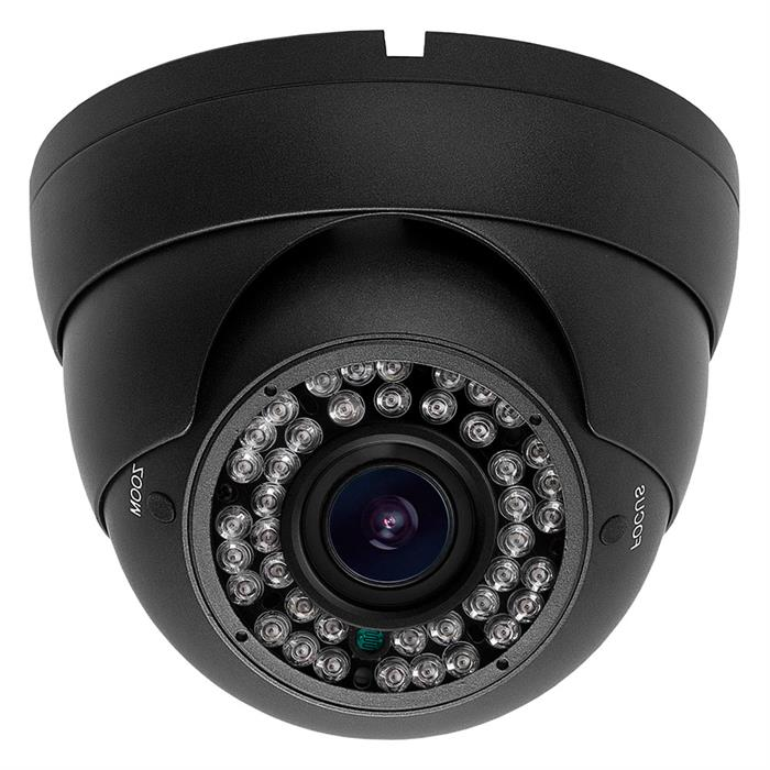 HD CVI IR Dome Camera 2Megapixel 2.8-12mm Varifocal (Dark Gray)