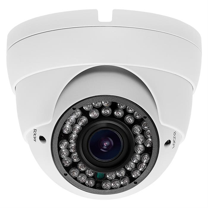 HD CVI IR Dome Camera 2Megapixel 2.8-12mm Varifocal (White)