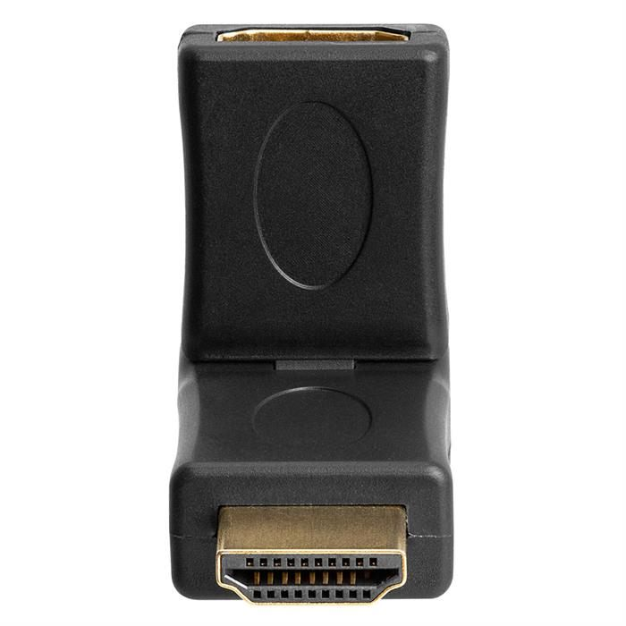 HDMI Male to Female Port Saver Adapter - Swiveling Type