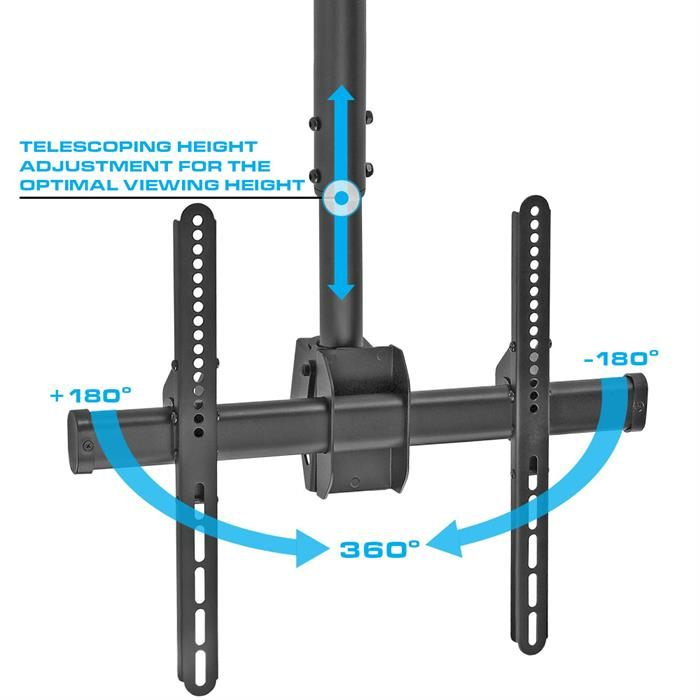 "Ceiling TV Mount For 32""-55"" LED/LCD/Plasma TV's"