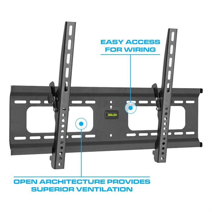 Open Wall Architecture provides superior ventilation